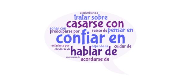 Verbos con preposición en español